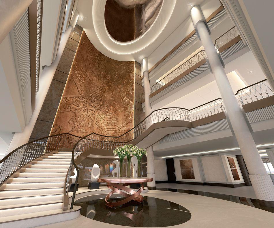 The Atrium on Spirit of Discovery