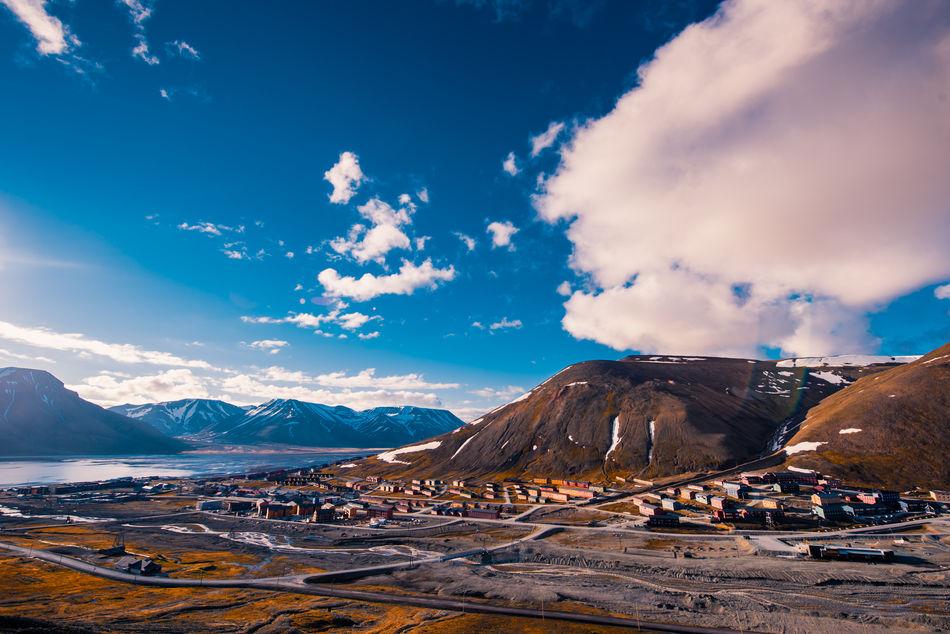 Spitsbergen Midnight Sun in Summer, Norway