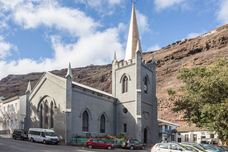 St James Church on St Helena