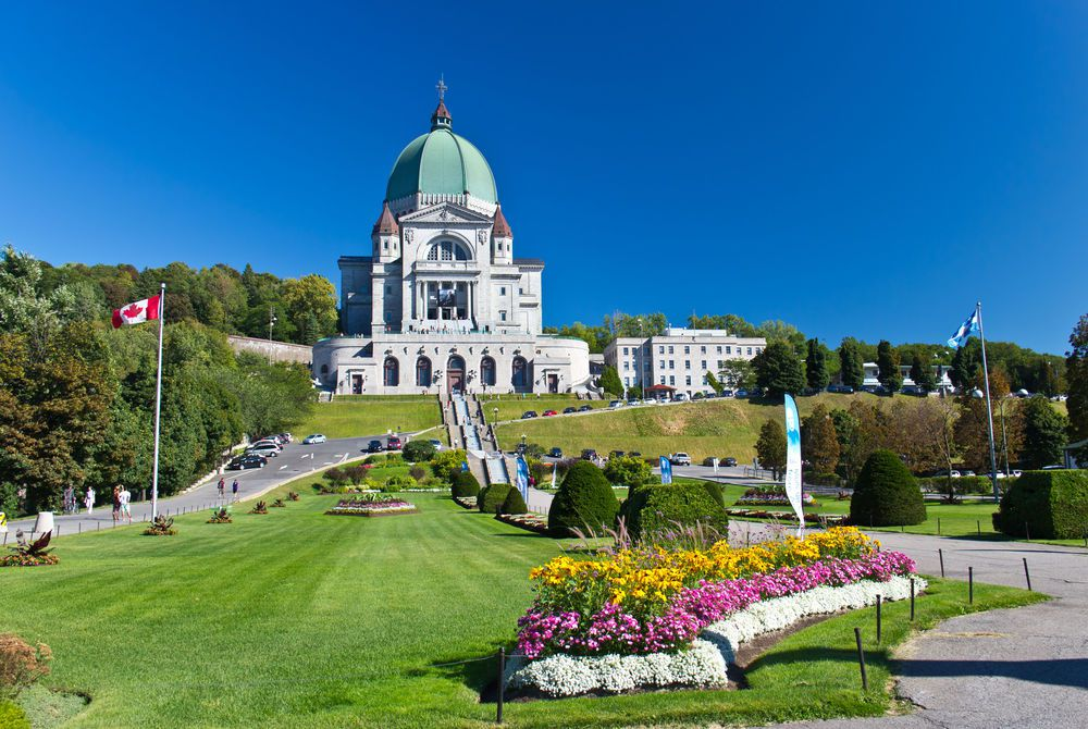 St Joseph Oratory in Montréal, Canada