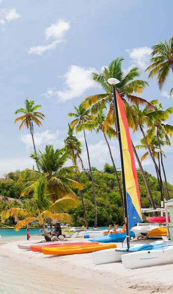 Beach, St Lucia