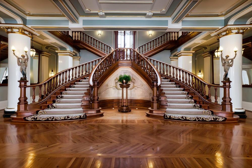 Staircases, Vidago Palace