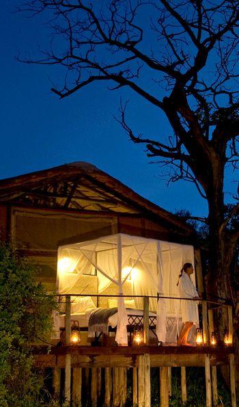 Star Bed, Sanctuary Baines' Camp, Okavango Delta, Botswana