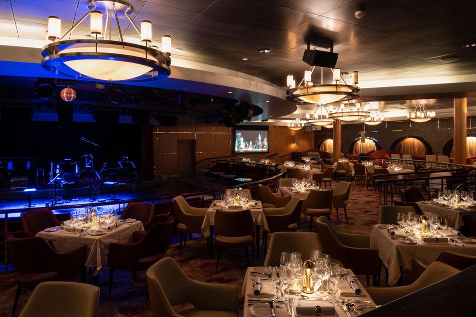 Stardust Supper Club on Crystal Serenity