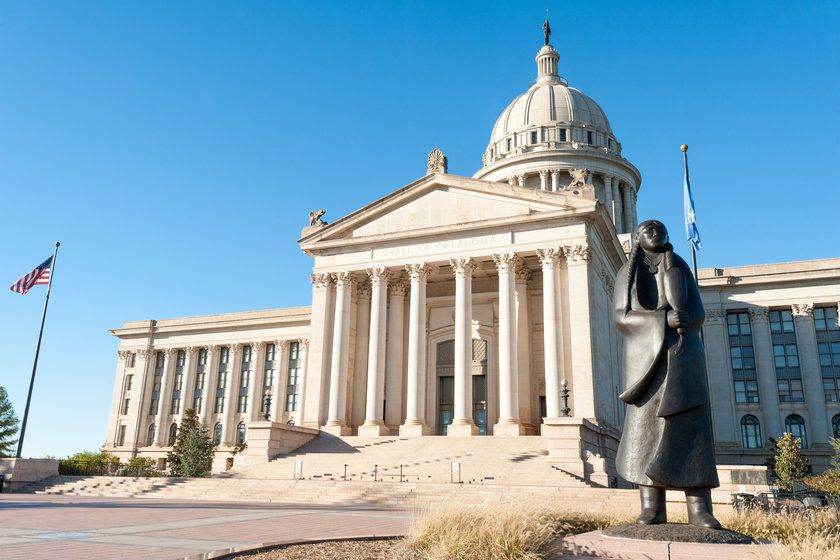 State Capitol in Oklahoma City, USA