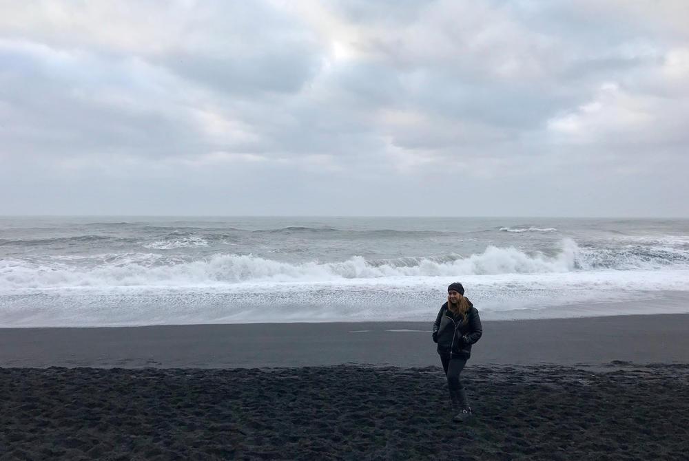 Steff Sergeant Iceland Black Sand