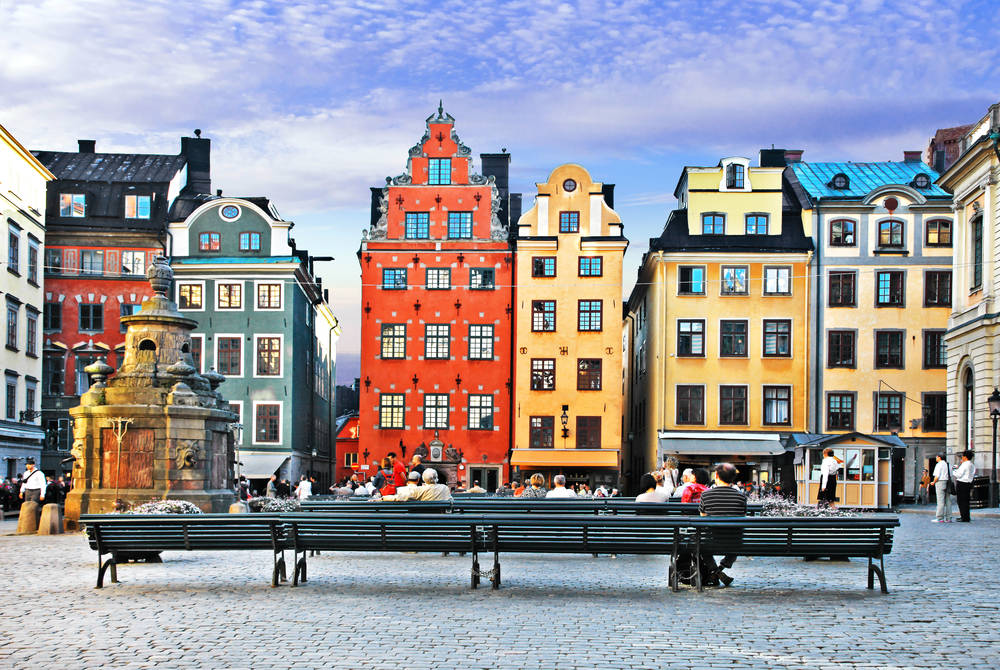 Old Town, Stockholm, Sweden