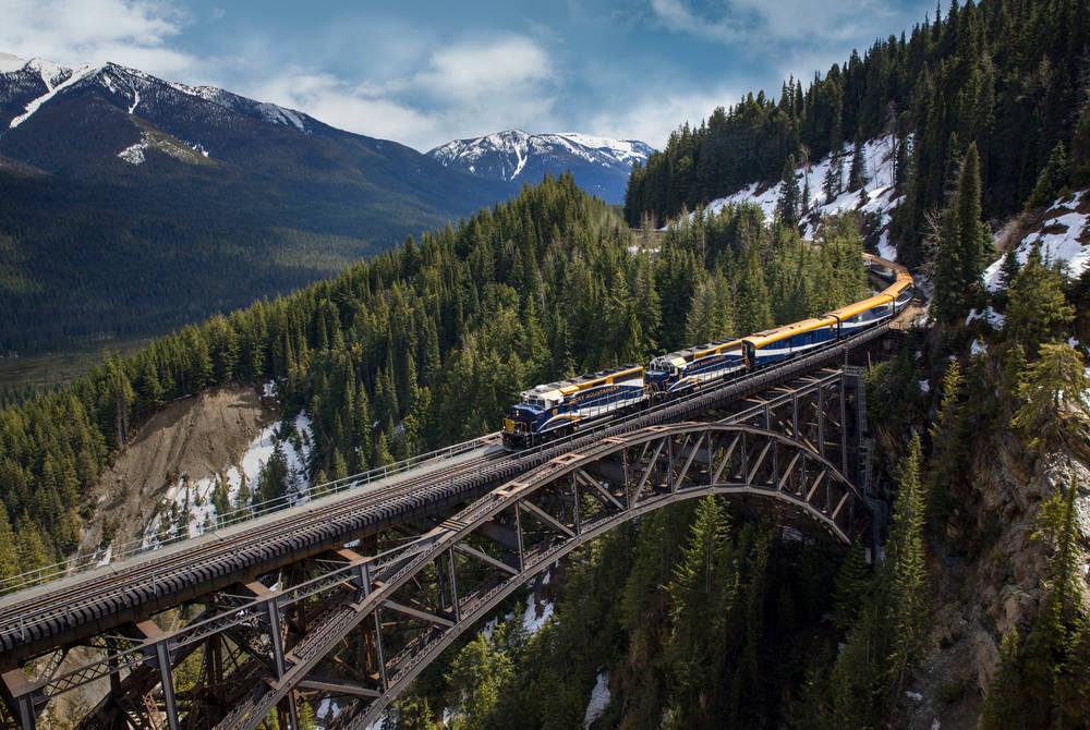 Stoney Creek Bridge, Rogers Pass, Rocky Mountaineer