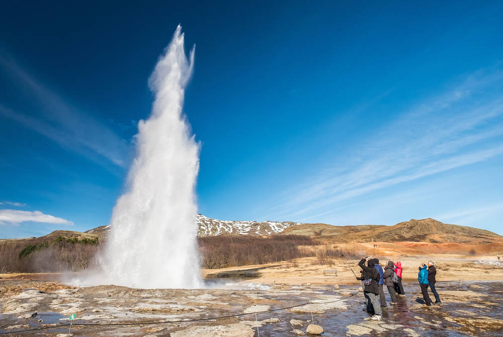 Strokkur Geyser, Golden Circle