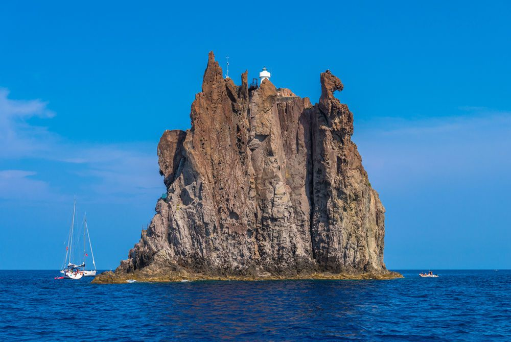 Strombolicchio Rock, Stomboli Island