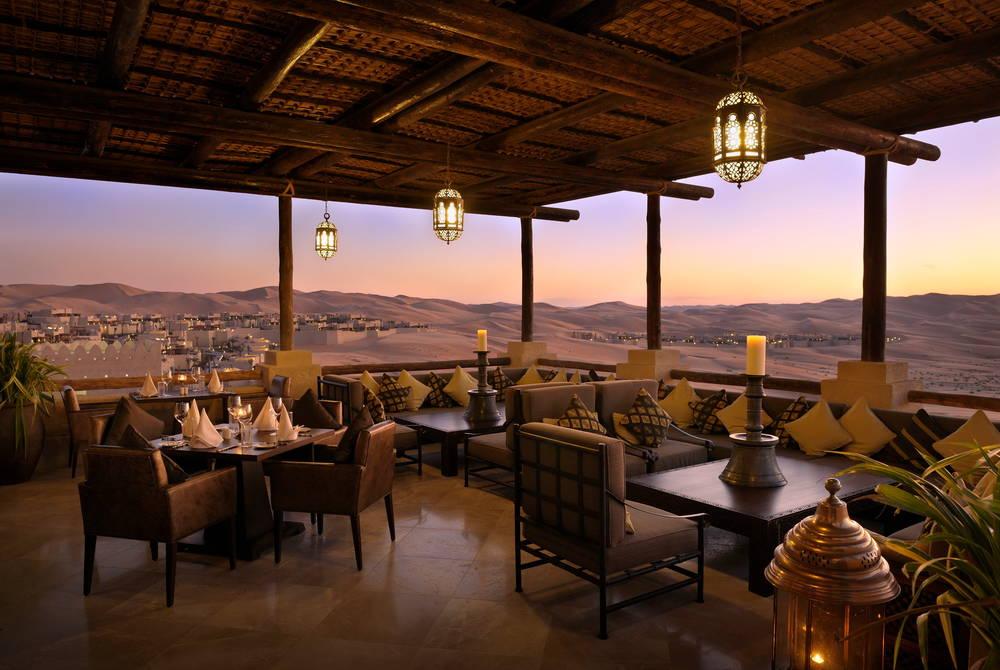 Suhail Restaurant view, Anantara Qasr Al Sarab
