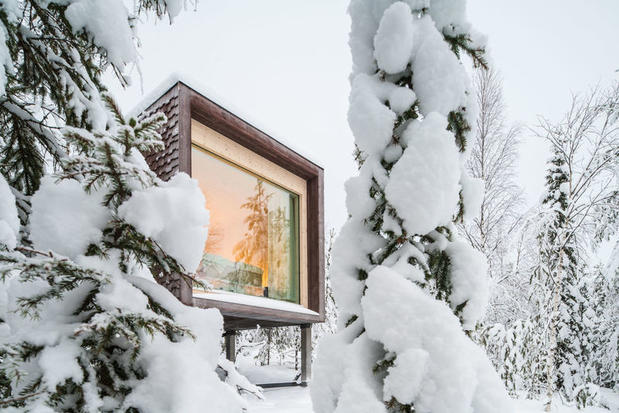 Suite at the Arctic TreeHouse Hotel – one of the best hotels in Lapland