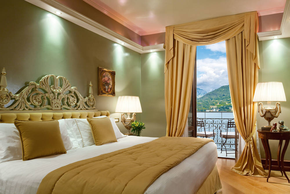 Suite Carlotta Bedroom, Grand Hotel Tremezzo