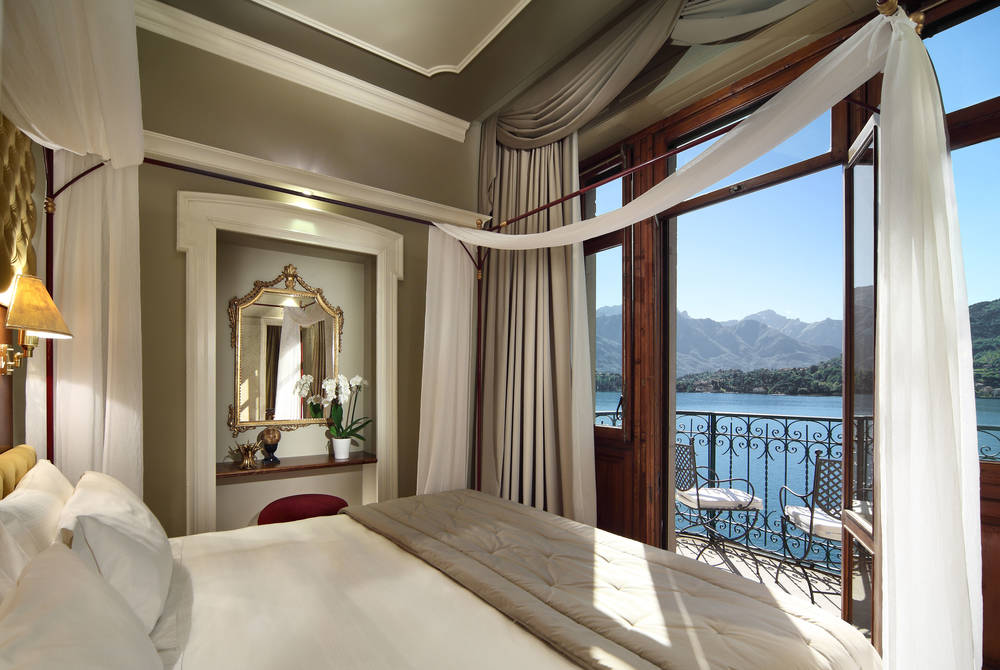 Suite Maria Bedroom, Grand Hotel Tremezzo