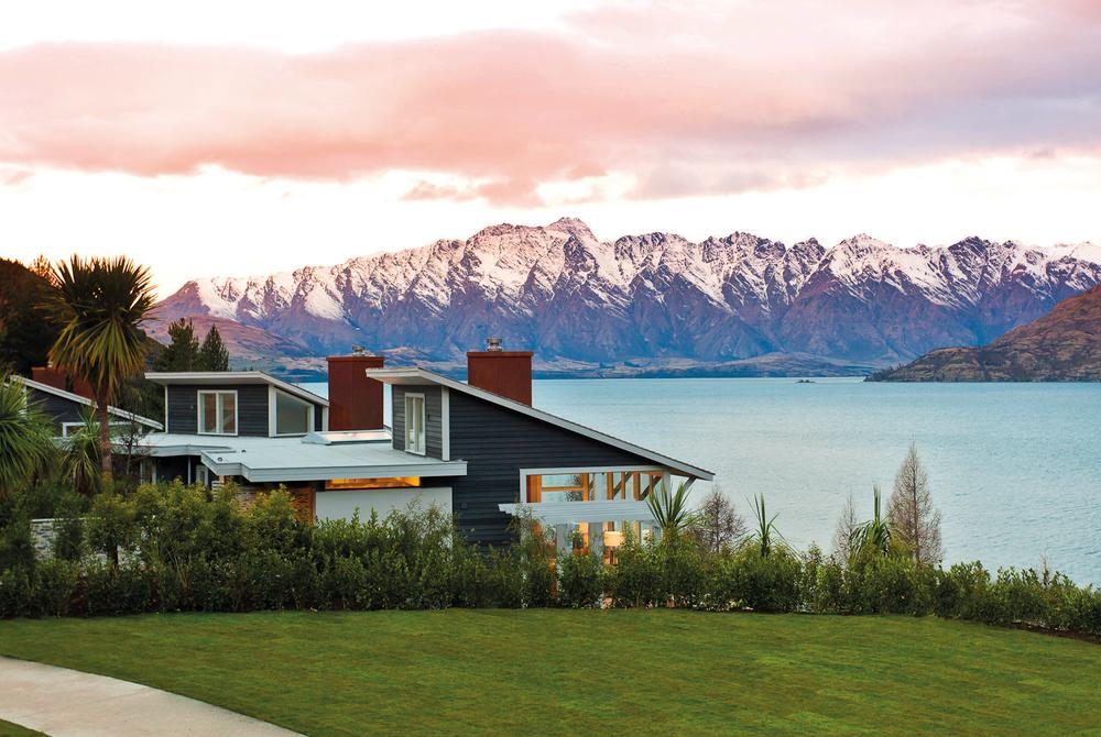 Matakauri Lodge near Queenstown, New Zealand