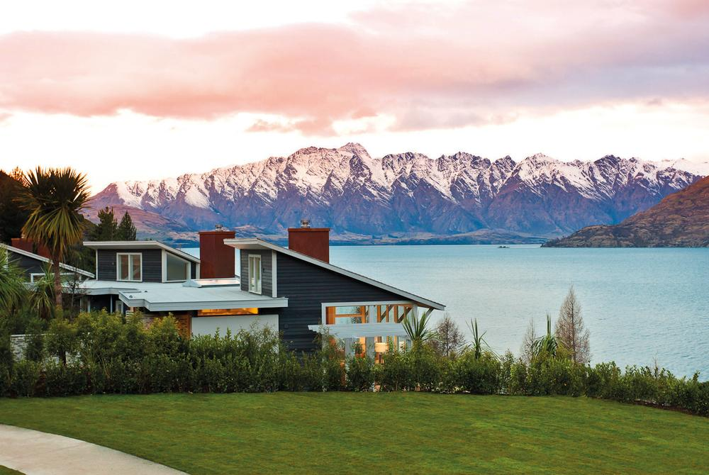 The Remarkables from Matakauri Lodge near Queenstown