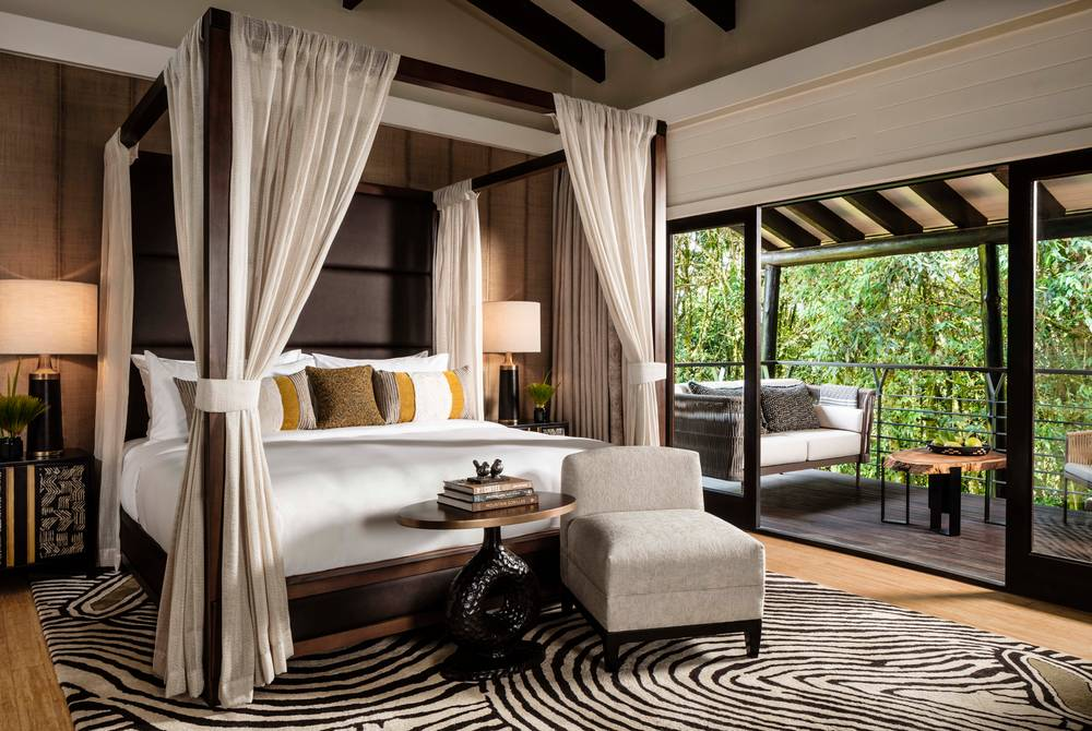 Suite bedroom, One&Only Nyungwe House, Rwanda