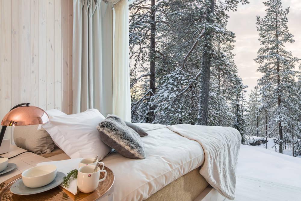 Luxury Santa break at the Arctic TreeHouse Hotel