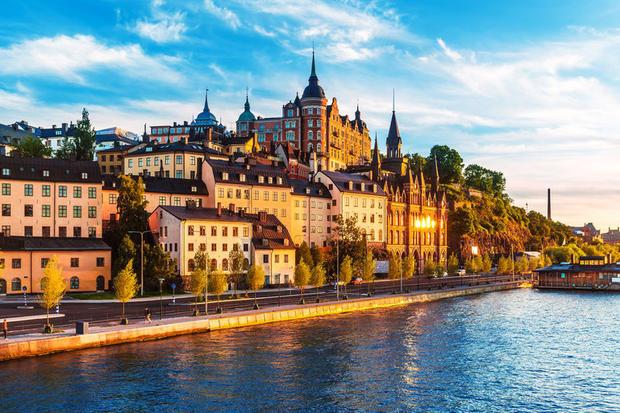 Summer in Stockholm, Sweden