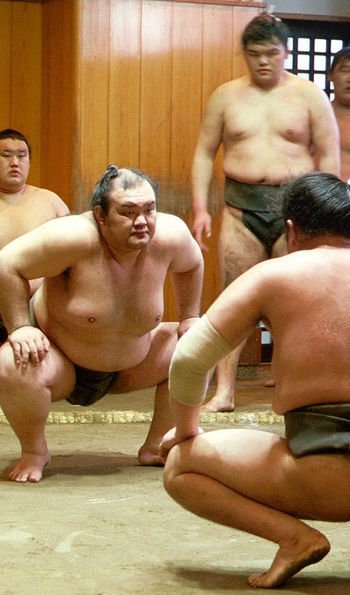 Sumo stable, japan