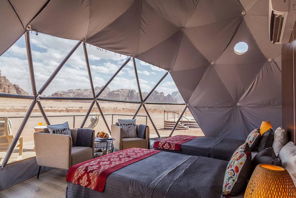 Sun City Camp, Martian Domes, Wadi Rum