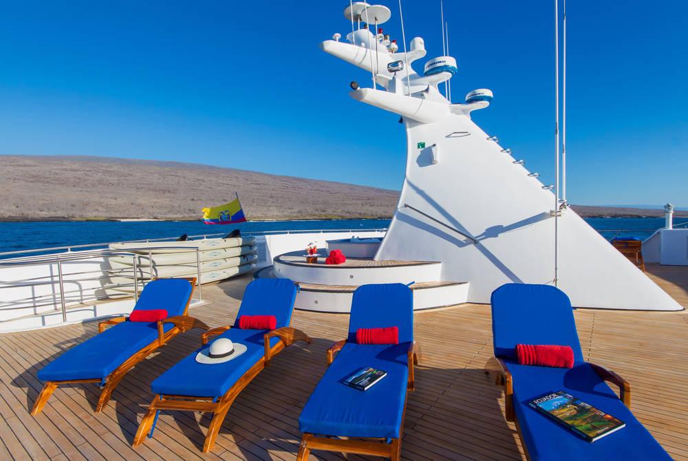 Sun deck, Ocean Spray