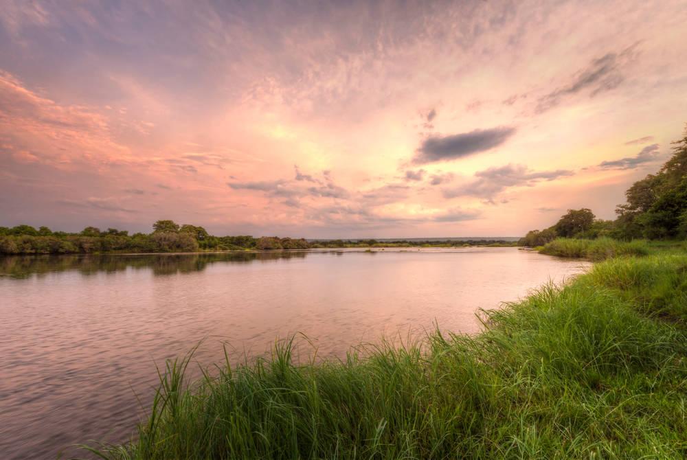 Sunset, Zambezi Sands