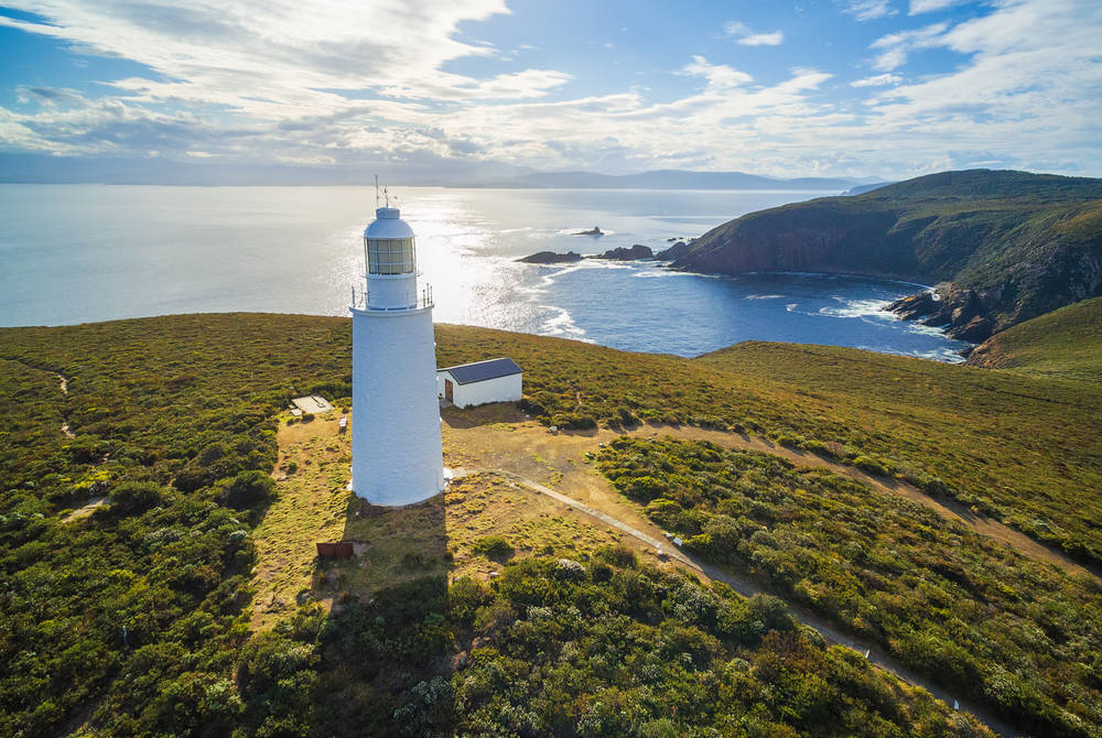 Sunset at Bruny Island Lighthouse