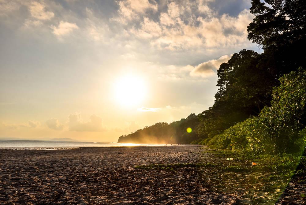 Sunset at Havelock Island