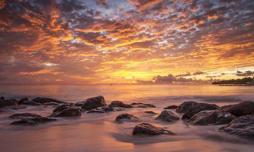 Sunset on the Beach, Barbados
