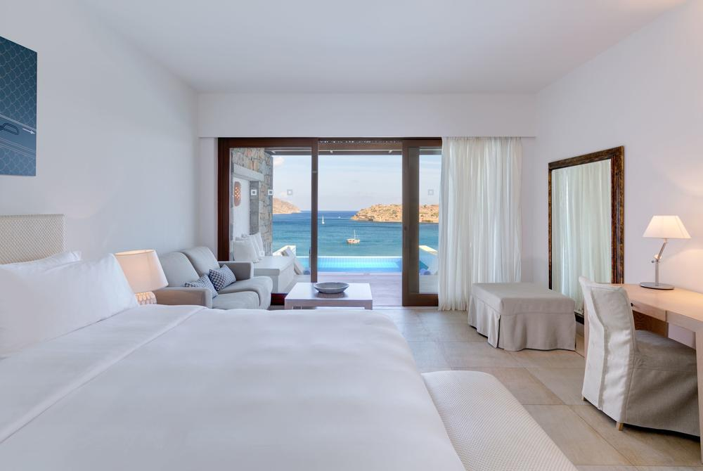Superior bungalow with sea and pool view at Blue Palace Resort & Spa