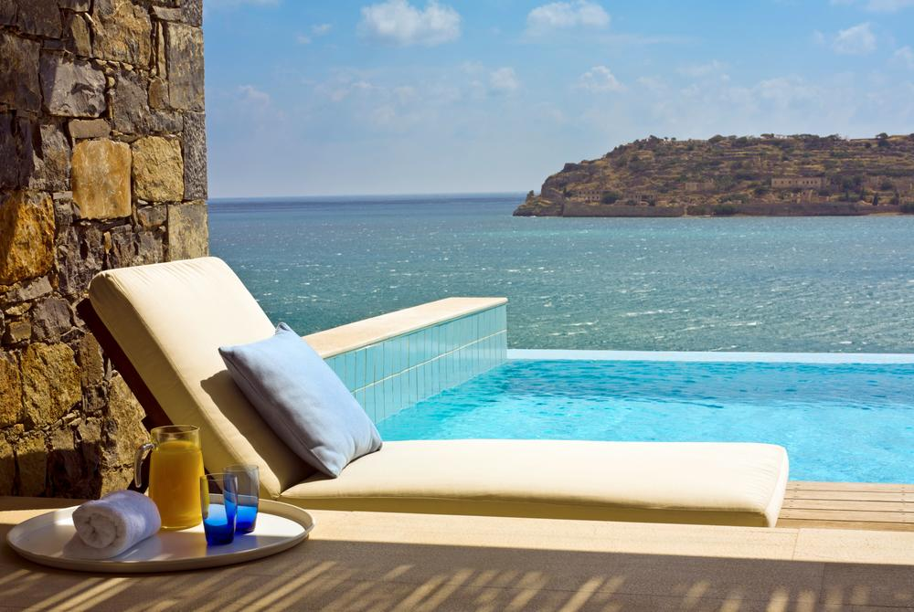 Superior bungalow with sea view and private pool at Blue Palace Resort & Spa