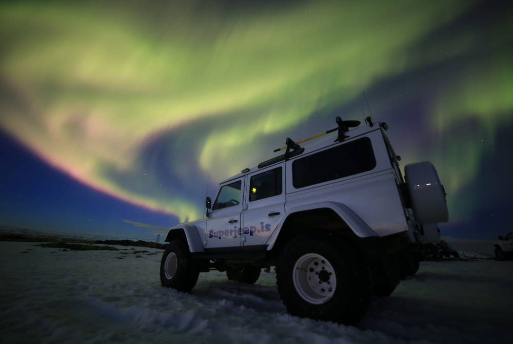 Northern Lights by Superjeep
