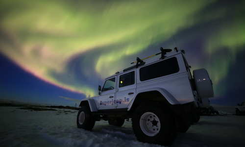 Hunt for the Northern Lights by Superjeep