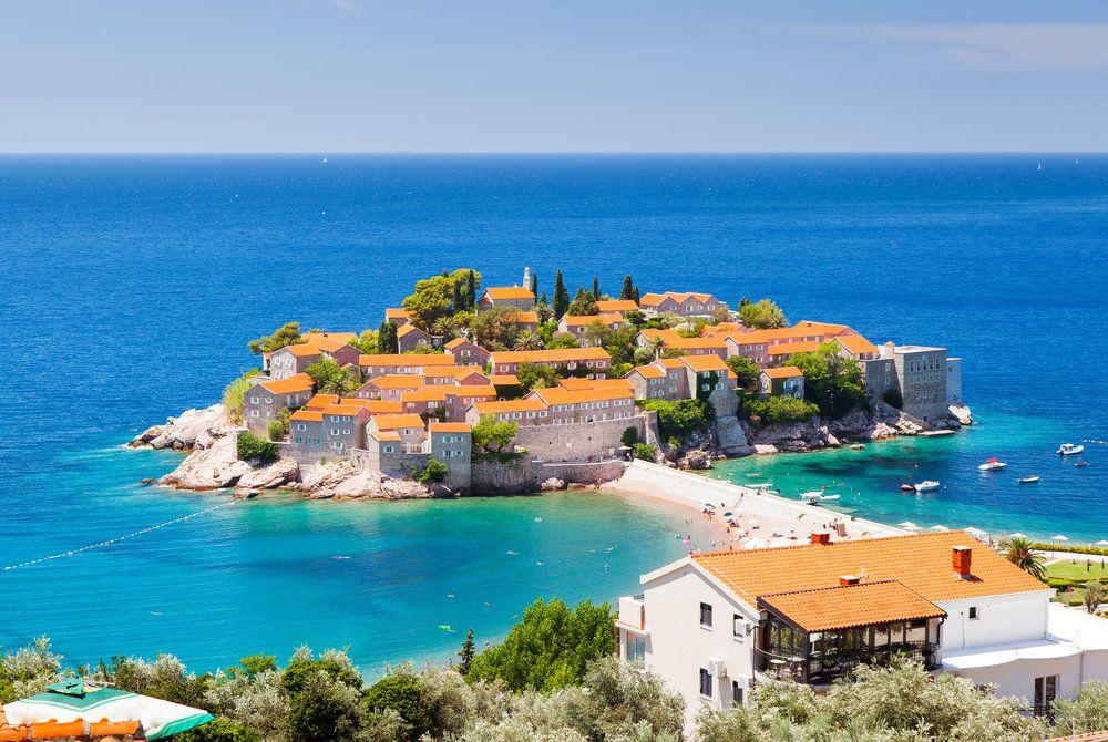 Sveti Stefan, Croatia