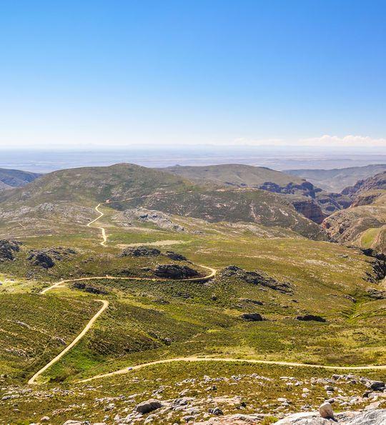 Swartberg Pass, Little Karoo in Oudtshoorn, South Africa