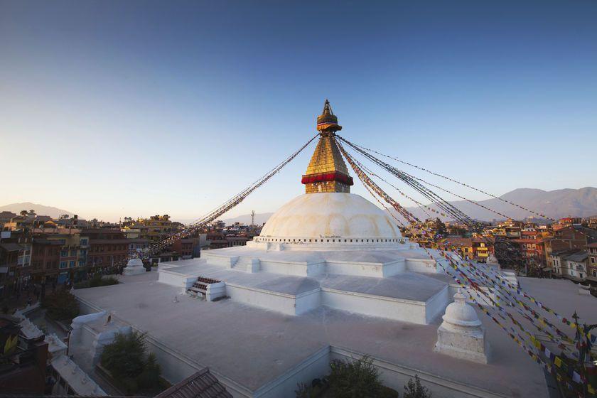 Swayambhunath Temple, Kathmandu, Nepal, Asia