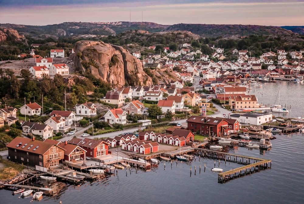Sweden's West Coast near Gothenburg