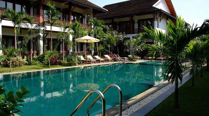 Swimming Pool, Green Park Boutique Hotel, Vientiane