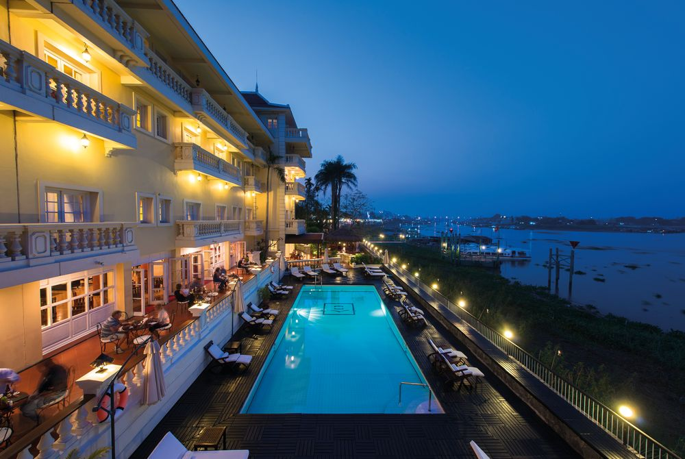 Swimming Pool, Victoria Chau Doc Hotel, Chau Doc, Vietnam
