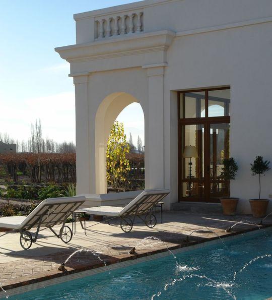 Swimming pool, Cavas Wine Lodge, Mendoza