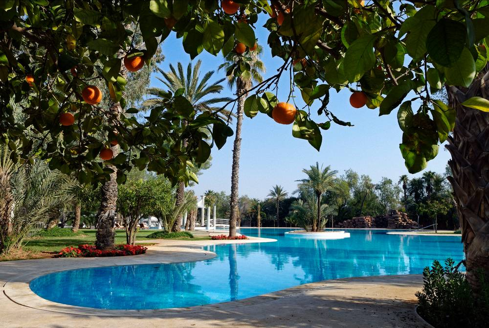 Swimming pool, Es Saadi Palace
