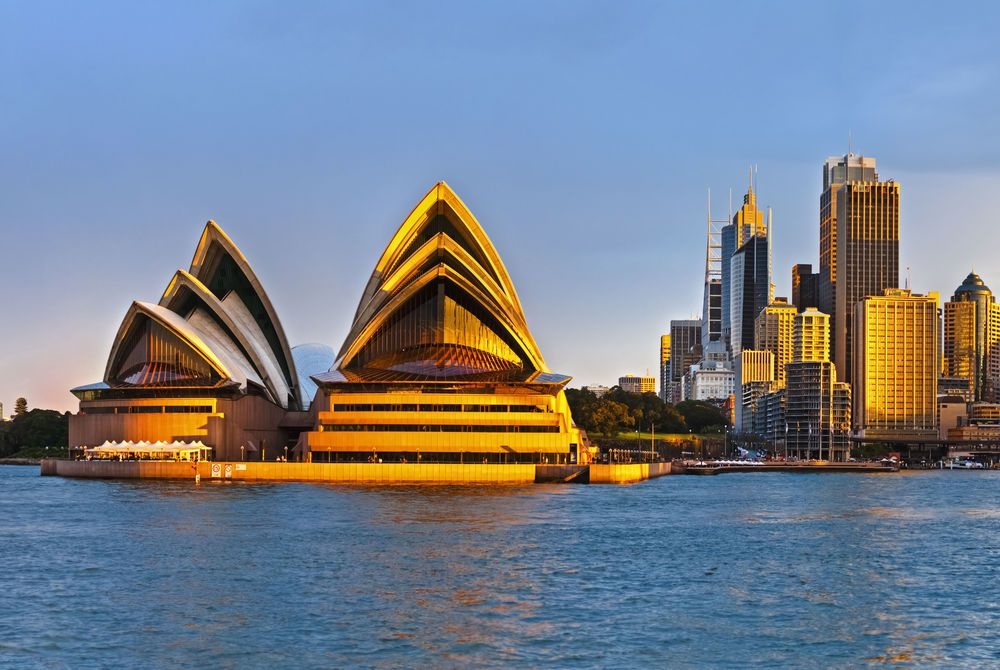 Sydney Opera House at Sunset, Sydney, Australia