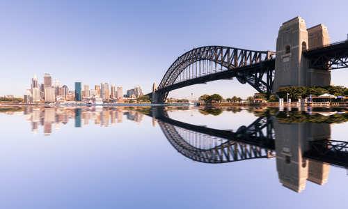 Sydney Waterfront skyline, Australia