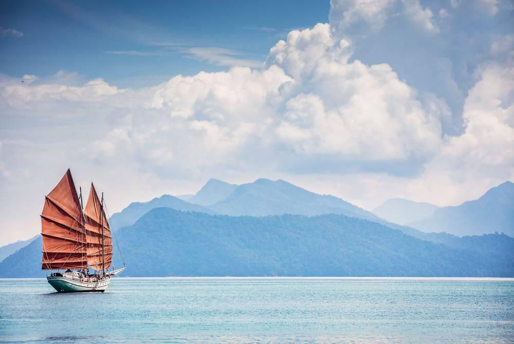 Naga Pelangi boat, The Datai Langkawi