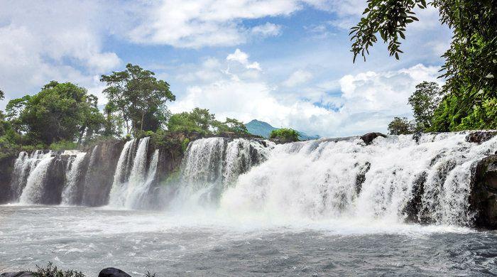 Tad Lo waterfall, Laos