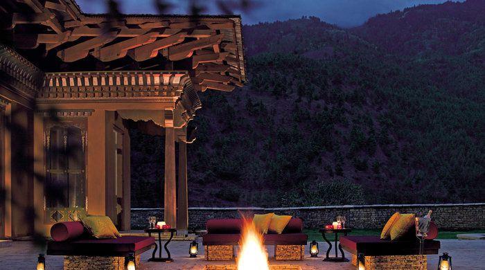 Outdoor Deck, Taj Tashi Thimphu, Thimphu