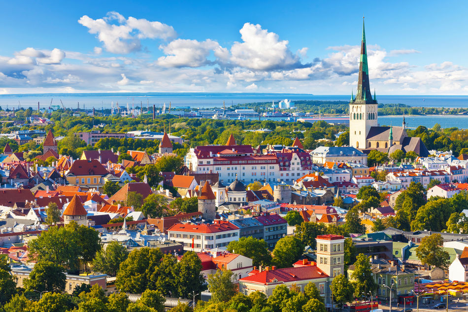 Colourful Tallinn, Riga, a popular cruise port in the Baltics
