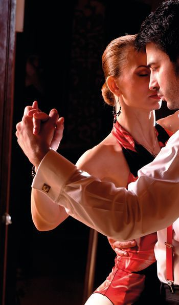 Enjoy a champagne dinner and performance at a famous tango dance hall