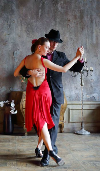 Roja tango show at the Faerna Hotel, Buenos Aires